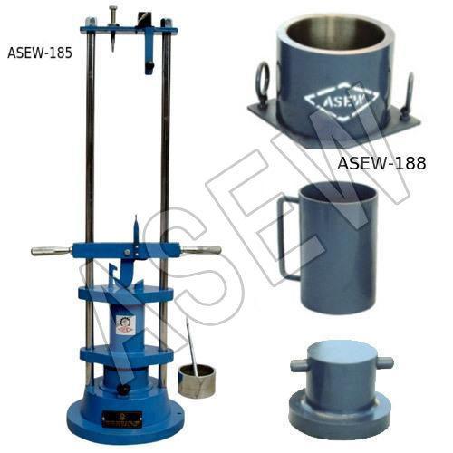 Aggregate Impact & Deval Abrasion Testing Machine