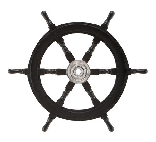 Shipwheel Black