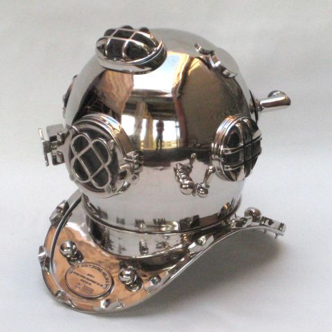 Chrome Divers Helmet
