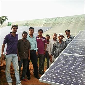 Solar Powered Panels