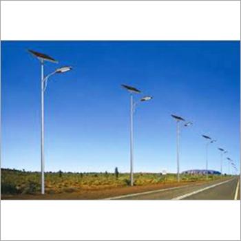 Vertical Wind Turbine Street Lights