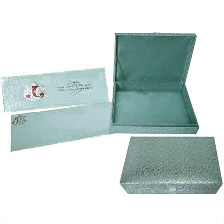 Wedding Invitation Card With Box