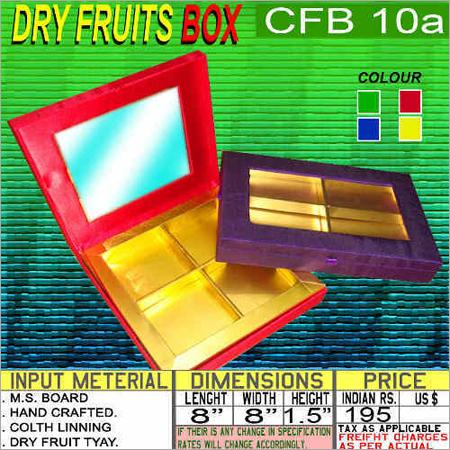 Multi Color Dry Fruits Box