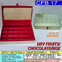 Gold And Silver Chocolate Box