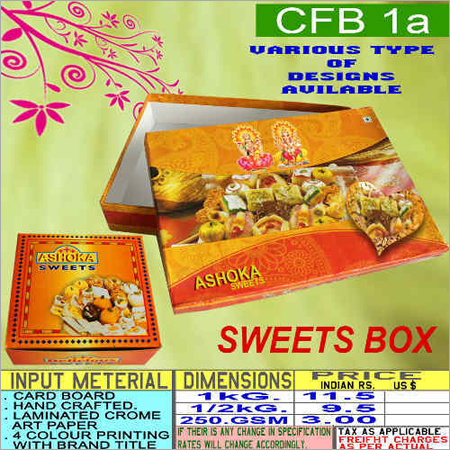Handcrafted Sweet Box