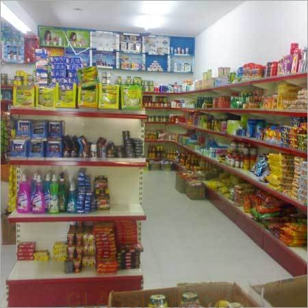 Departmental Store Shelving