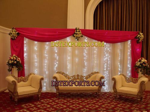 Beautiful Wedding Stage Set