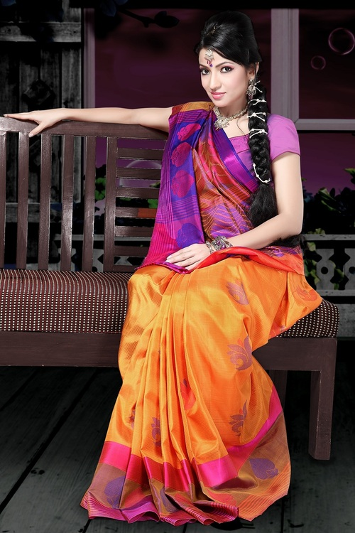 Indian Handloom Silk Saree