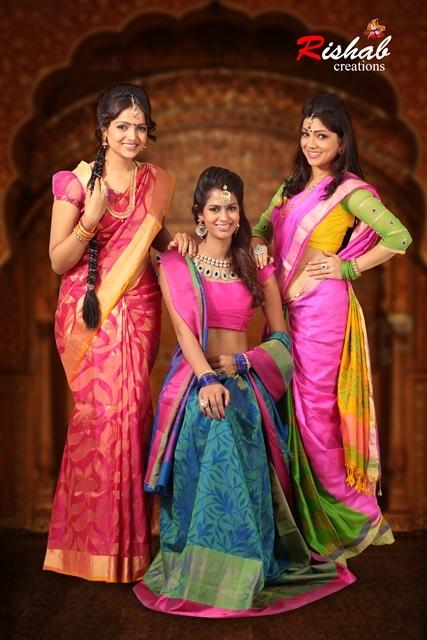 Soft Silk saree D-900