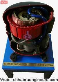 Cut Suction Hermetically Sealed  Compressor