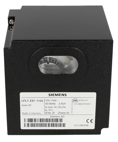 Siemens LFL1.133 Gas Burner Controls