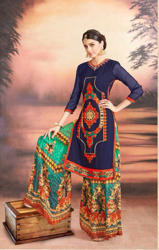 Georgette Lovely Digital Printed Plazzo Suit