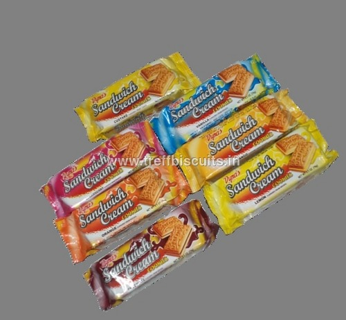 Dyna's Sandwich Cream Cookie