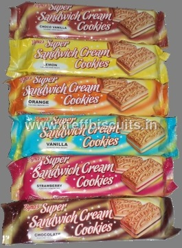 Dyna's Sandwich Cream Cookies