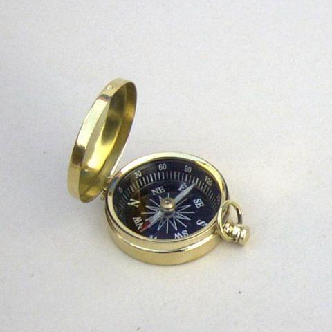 Pocket Brass Compass