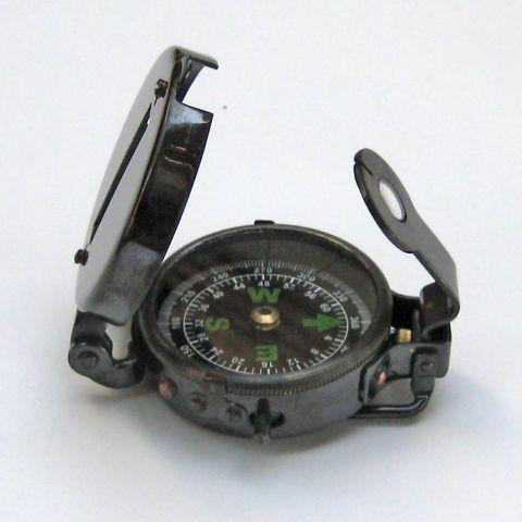 Antique Military Compass