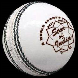 Star of India White Cricket Balls