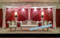 Latest Indian Wedding Stage Decoration