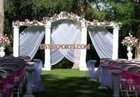 OUTDOOR WEDDING STAGE DECORS