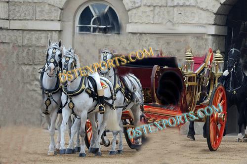 Maharaja Wedding Horse Carriage