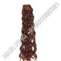 Remy Single Drawn Jackson Weave Machine Weft Hair
