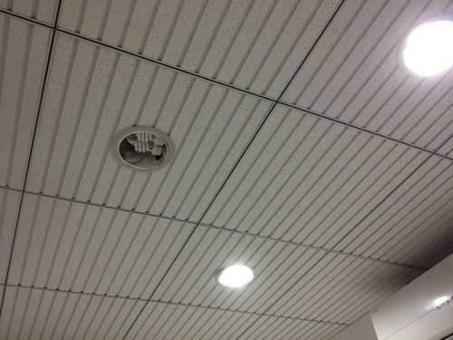 Lining Fissured Mineral Fiber Ceiling Tiles