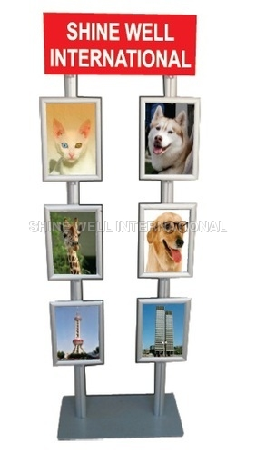 6 Tier Standee With 2 Pole