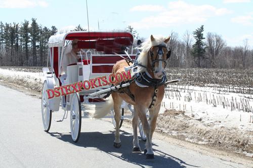 Elegent Victoria Horse Drawn Carriage