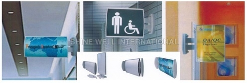 Arc Double-Sided Wall Sign