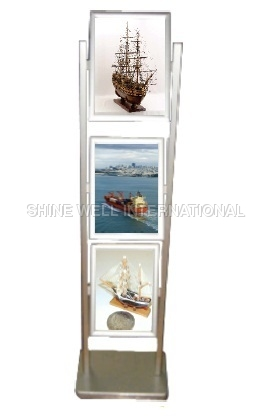 3Tier Standee With 2 Pole