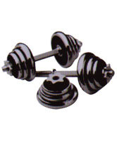 Steel Dumbbell Rounded