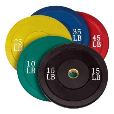 Rubberized Color Weight Plates