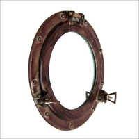 Porthole Mirror Antique 15