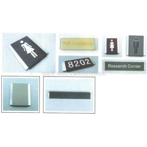 Leather Replica Interior Signage Frame