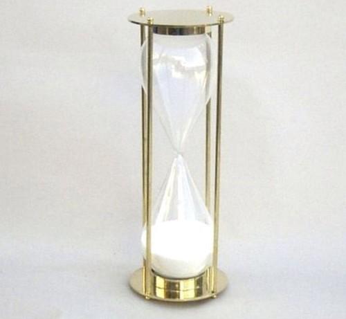 Brass Hour Glaass Sand Timer