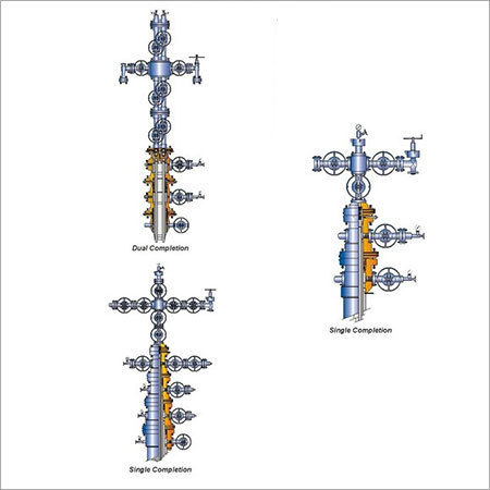 Typical Single & Dual Completion Wellhead & X-Mas