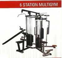 6 STATION MULTI GYM