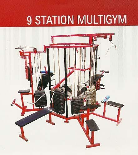 9 STATION MULTI GYM