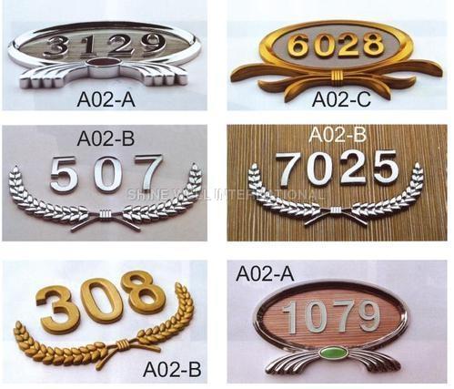 Door Number Plate Signages