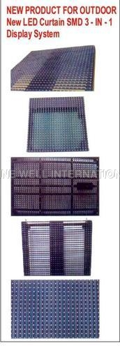 Outdoor LED Curtain SMD 3-in-1 Display System