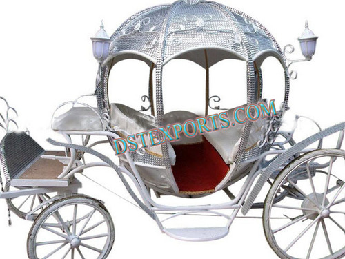 Royal Crystal Hood Carriage