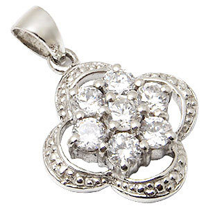 Cubic Zirconia pendant jewellery with CZ 925 silve