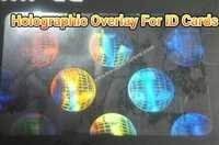 REVOLVING GLOBE ID CARD OVERLAY