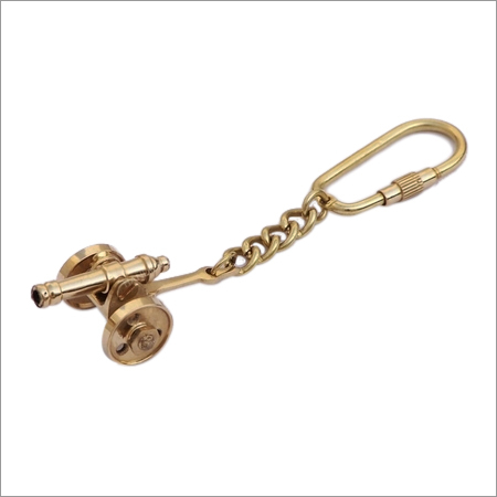 Nautical Cannon Keychain