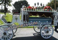 Funeral Horse Drawn Carriages