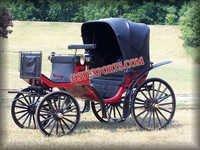 Black Victoria Carriage Builder