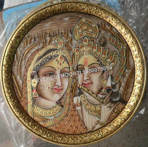 Marble Round Plates