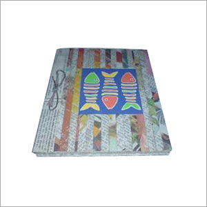 Recyled Paper Diary