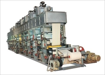 Eight Color Rotogravure Printing Machine