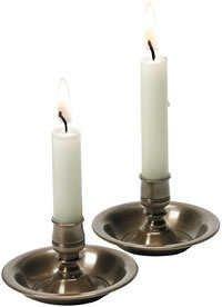 Brass Black Candle Holder